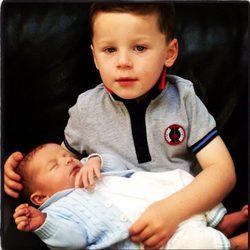 Los hijos de Wayne y Coleen Rooney, Kai y Klay