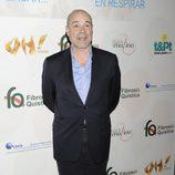 Antonio Resines en una fiesta solidaria a favor de la fibrosis quística