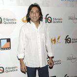 Antonio Carmona en una fiesta solidaria a favor de la fibrosis quística