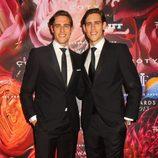 Jordan Stenmark y Zac Stenmark en la Fragrance Foundation Awards 2013