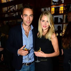 James Middleton y Donna Air