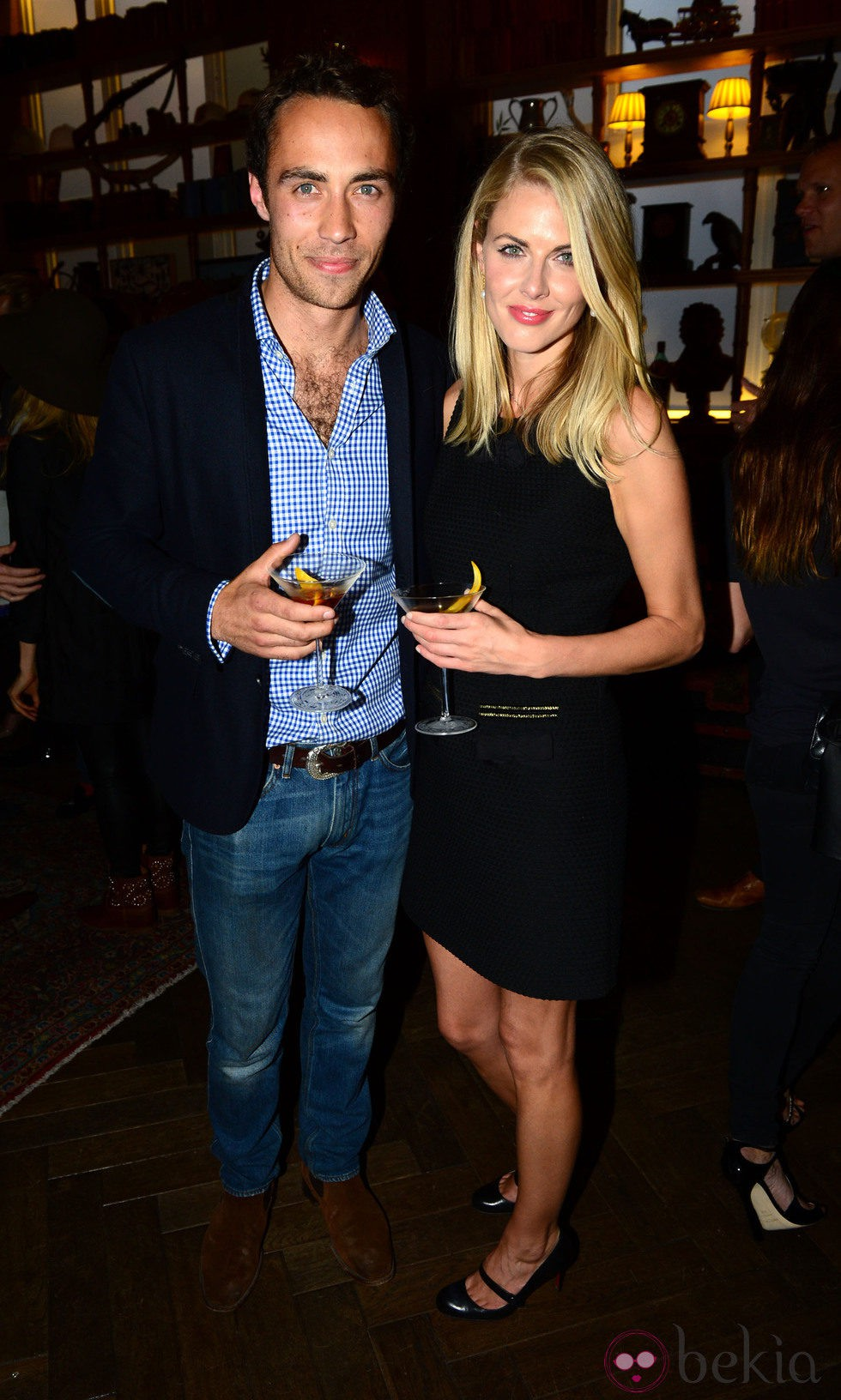 James Middleton y Donna Air