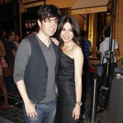 Marta Fernández y Eduardo Chapero Jackson en la Noche de San Jorge Juan 2013