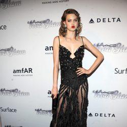 Lindsey Wixson en la gala amfAR 2013 de Nueva York