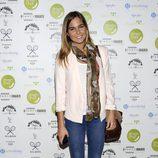 Natalia Sánchez en la presentación de un menú en Madrid