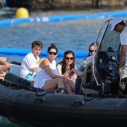 Patrick Schwarzenegger y sus hermanos de vacaciones en el sur de Francia