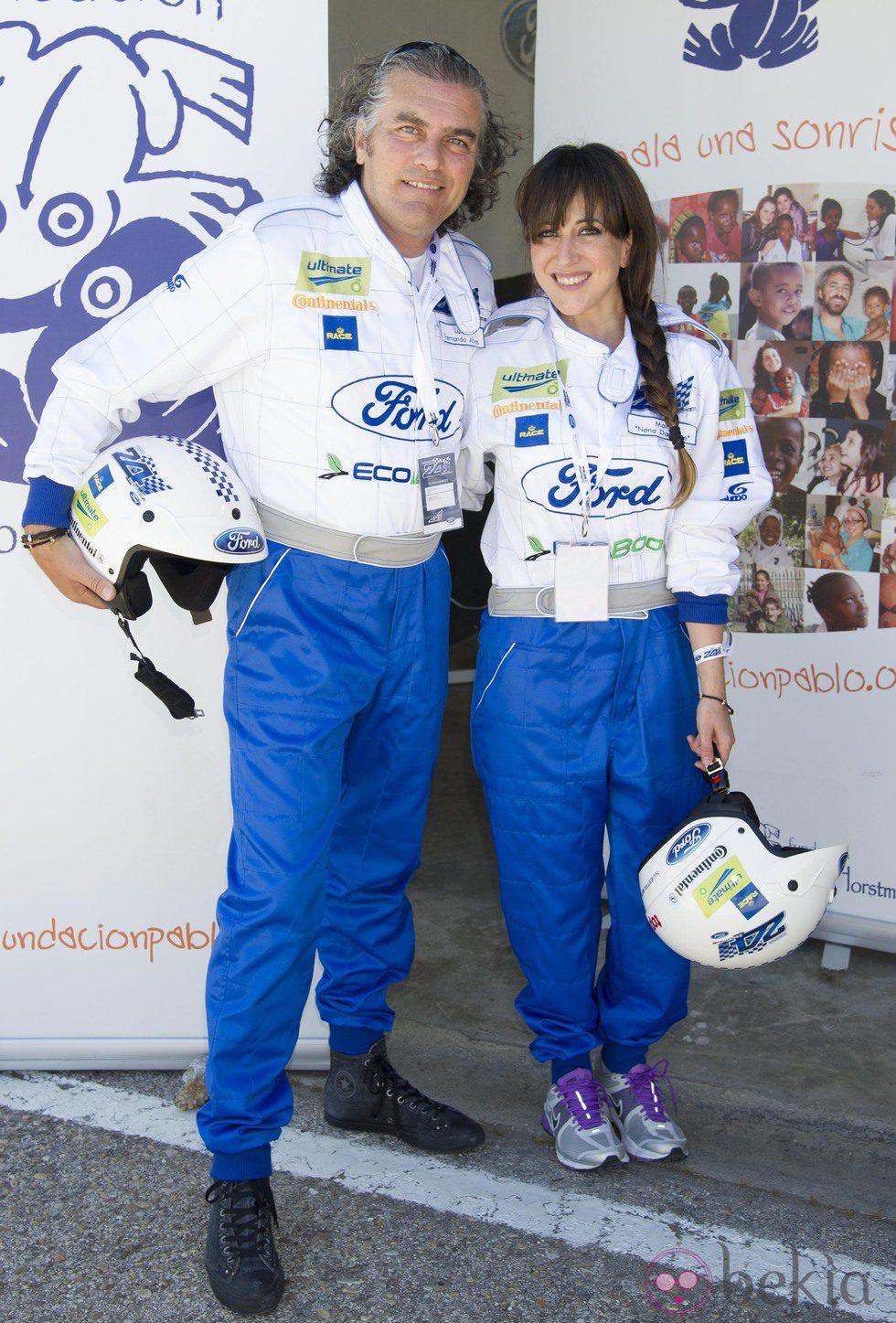 Luis Fernando Alves y Mai Meneses en la 10 Edición del 24 Horas Ford 2013