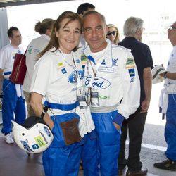 Joaquín Torres y Blanca Fernández en la 10 Edición del 24 Horas Ford 2013