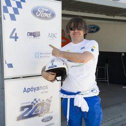 Miki Nadal en la 10 Edición del 24 Horas Ford 2013