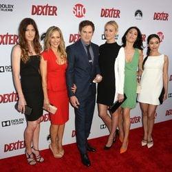 Protagonistas de la serie Dexter en la presentación de la octava temporada