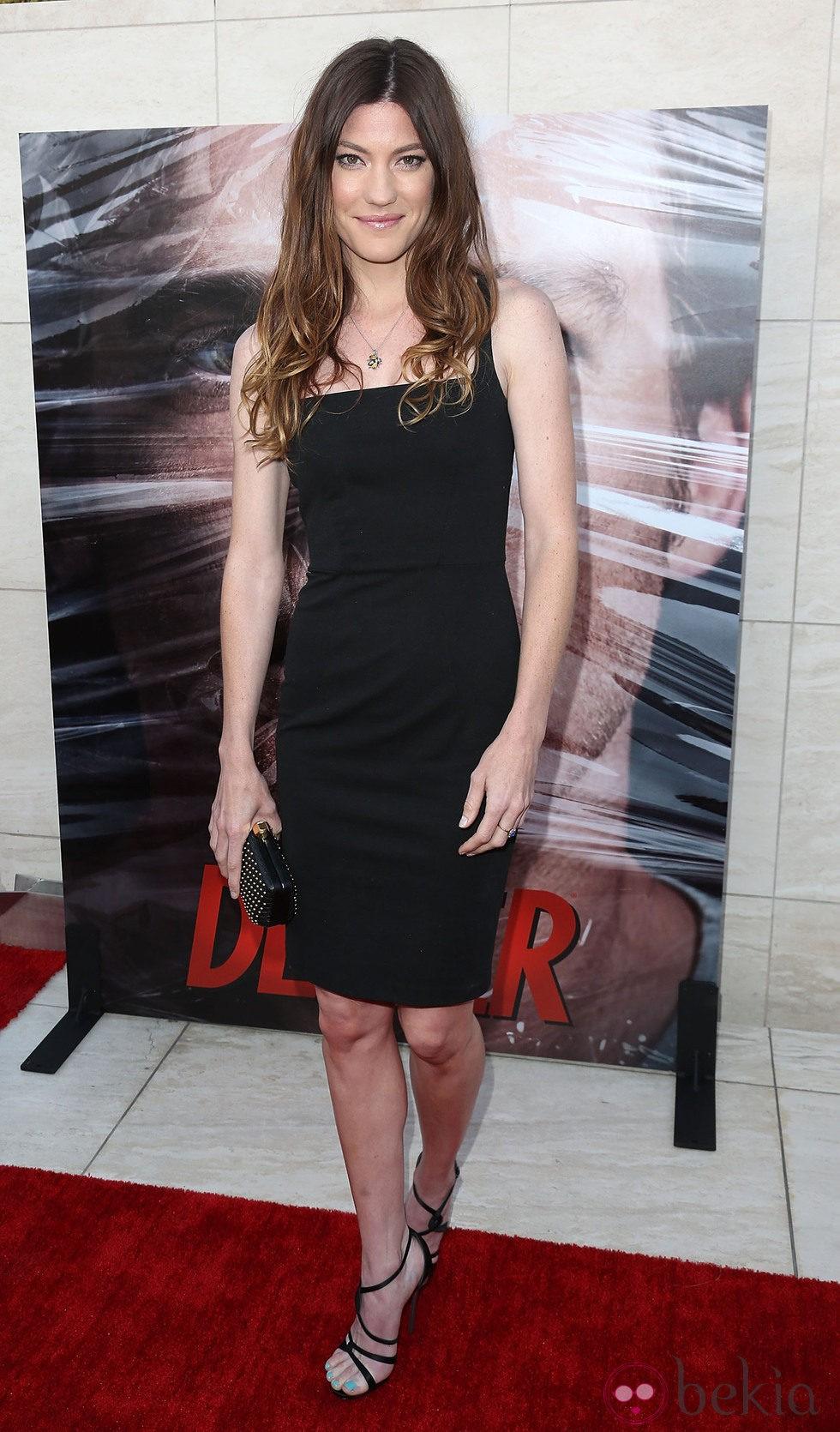 Jennifer Carpenter en la presentación de la octava temporada de Dexter