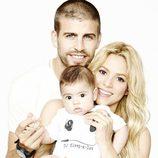Gerard Piqué, Shakira y Milan celebran el Día del Padre