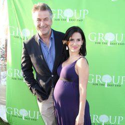 Hilaria Thomas presume de embarazo junto a Alec Baldwin en Nueva York