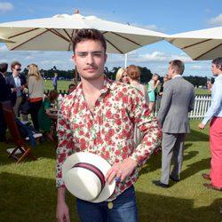 Ed Westwick en la Copa de la Reina de Polo