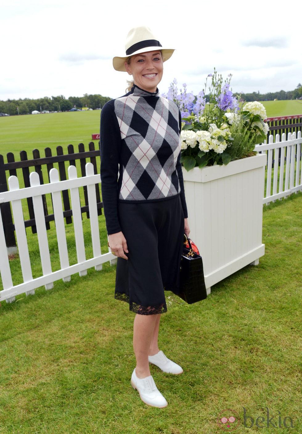 Sharon Stone en la Copa de la Reina de Polo