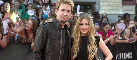 Avril Lavigne y Chad Kroeger en los MuchMusic Video Awards 2013