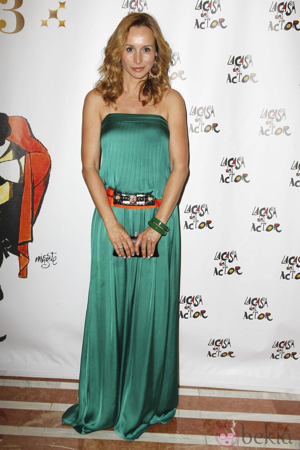 Mar Regueras en los premios de La Casa del Actor 2013