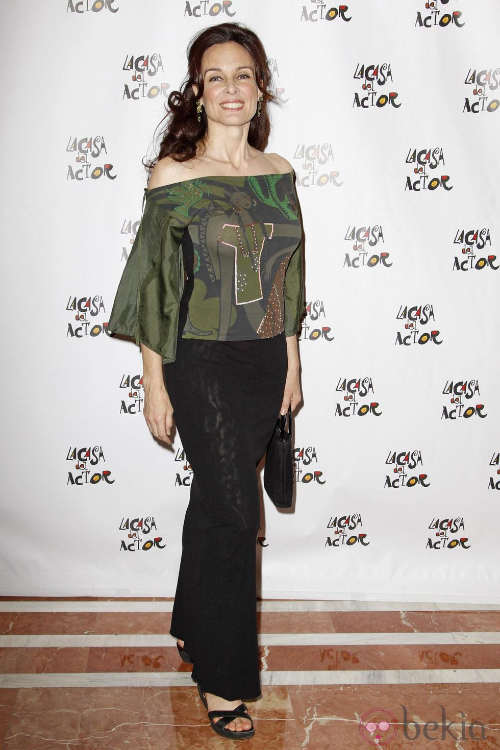 Silvia Marsó en los premios de La Casa del Actor 2013