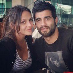 Raúl Albiol y Alicia Roig celebran su segundo aniversario de boda