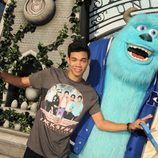 Roshon Fegan en el estreno de 'Monstruos University' en Los Angeles