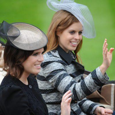 Las Princesas de York saludan sonrientes en la inauguración de Ascot 2013