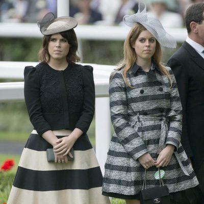 Beatriz y Eugenia de York en la inauguración de Ascot 2013