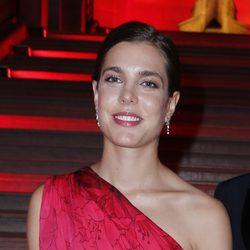 Carlota Casiraghi, invitada en la cena benéfica 'Liaisons au Louvre III'