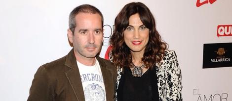 Jacobo Martos y Toni Acosta en el estreno de 'El Amor de Eloy'