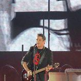 Alejandro Sanz en su concierto en Sevilla