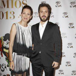 Remedios Cervantes y Álex Gadea en los premios de La Casa del Actor 2013