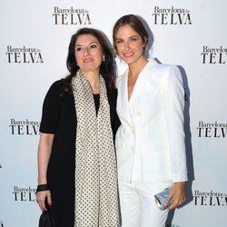 Montserrat Martí Caballé y Martina Klein en el 50 aniversario de Telva