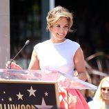 Jennifer Lopez habla sobre su estrella en el Paseo de la Fama de Hollywood