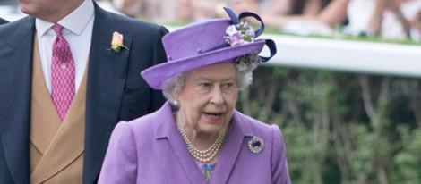 La Reina Isabel II en Ascot 2013