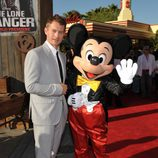 James Badge Dale en la premiere de 'El llanero solitario' en Disneyland Resort