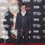 Johnny Depp en la premiere de 'El llanero solitario' en Disneyland Resort