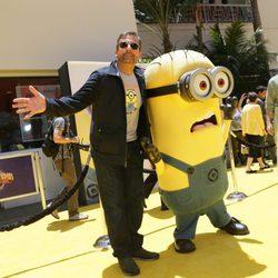 Steve Carell en la premiere de 'Gru 2. Mi villano favorito' en Los Angeles