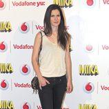 Lidia San José durante el concierto de Mika ofrecido en Madrid la Noche de San Juan