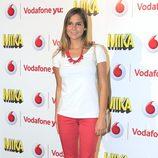 Natalia Sánchez durante el concierto de Mika ofrecido en Madrid la Noche de San Juan