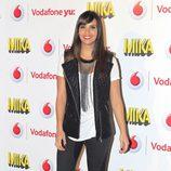 Cristina Pedroche durante el concierto de Mika ofrecido en Madrid la Noche de San Juan