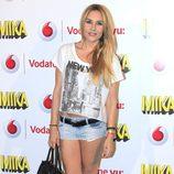 Berta Collado durante el concierto de Mika ofrecido en Madrid la Noche de San Juan