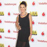 Noelia López durante el concierto de Mika ofrecido en Madrid la Noche de San Juan