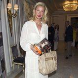 Anne Igartiburu en la presentación de la novela 'Luisa y los espejos'