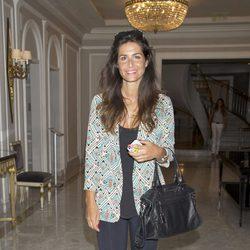 Nuria Roca en la presentación de la novela 'Luisa y los espejos'