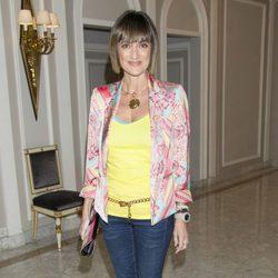 Ana García Lozano en la presentación de la novela 'Luisa y los espejos'