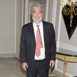Miguel Ángel Rodríguez en la presentación de la novela 'Luisa y los espejos'