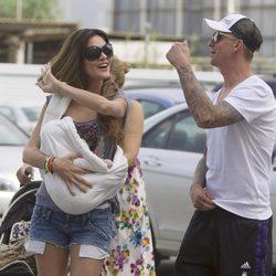Guti y Romina Belluscio disfrutan del verano en Ibiza con su hijo Enzo
