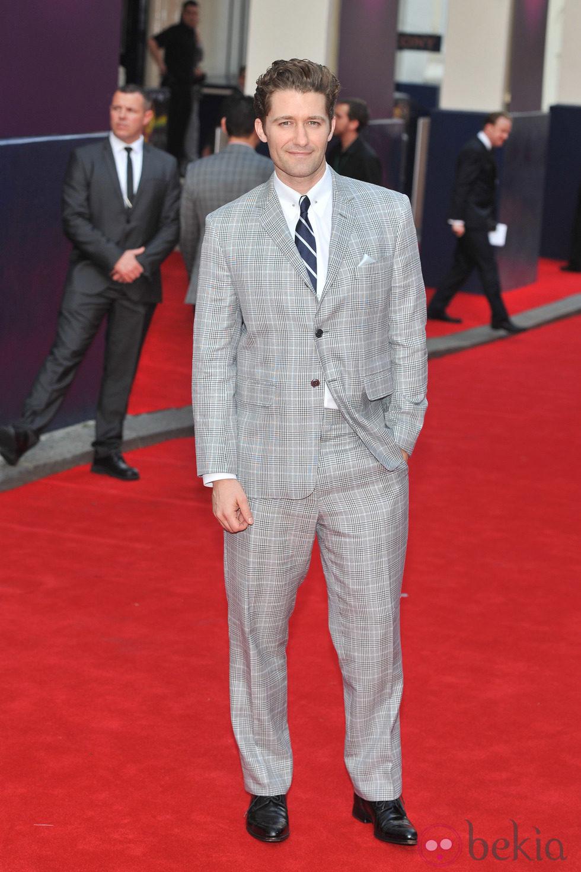 Matthew Morrison en el estreno del musical de 'Charlie y la Fábrica de Chocolate' en Londres