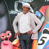 Samuel L. Jackson en la presentación de 'Turbo' en Barcelona