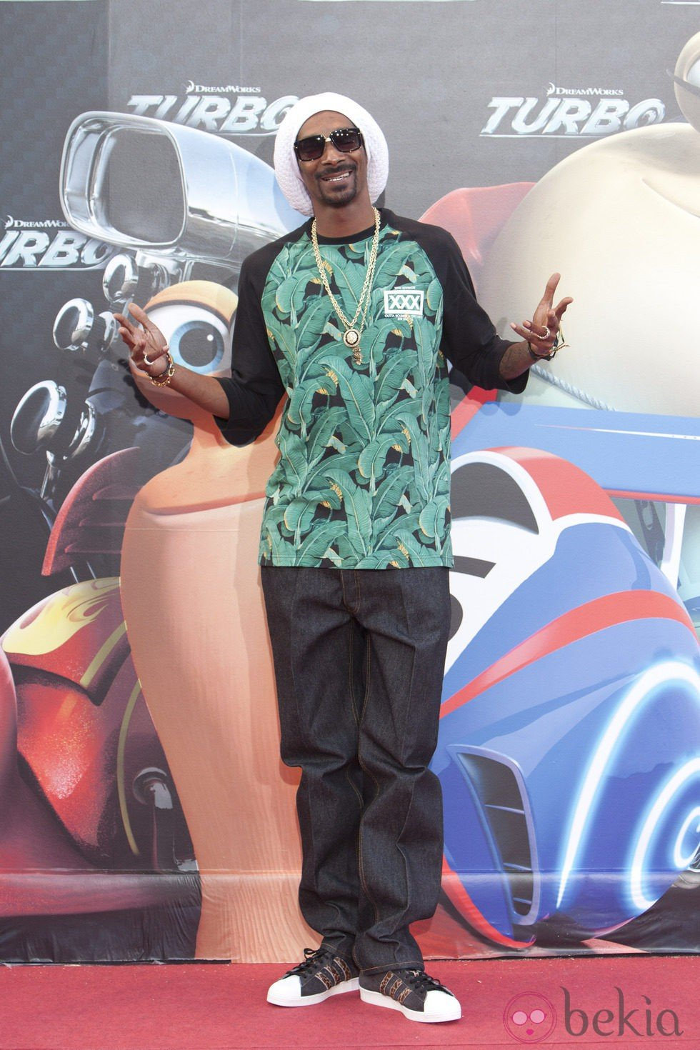 Snoop Dogg en la presentación de 'Turbo' en Barcelona