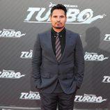 Michael Peña en la presentación de 'Turbo' en Barcelona